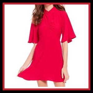 NWT FREE PEOPLE BE MY BABY RED DRESS